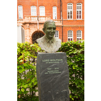 Lord Wolfson bust