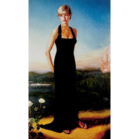 Princess Diana full length portrait