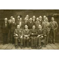 Group photograph: clinical clerks 1930s