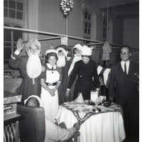 Christmas on ward with Matron Ling