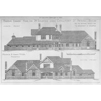 Passmore Edwards Home elevations 1897