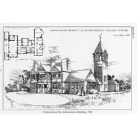 Administrative building plan 1900