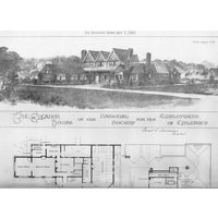 Eleanor House Architect's drawing 1897