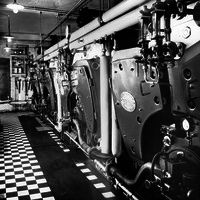 Oil fired boilers 1958