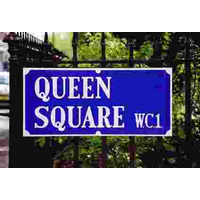 Queen Square Street Sign