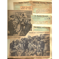 Press cuttings. 24 July 1937, Coronation Pavement Party in aid of National Hospital.