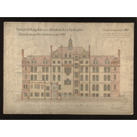 Original Architects Drawing of