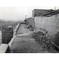 Bomb damage to Queen Mary Wing.